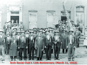 The Arch Social Club in 1923. Photo from the Arch Social Club website.