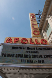 The Apollo Theater in Harlem, New York. Photo by Greg Routt