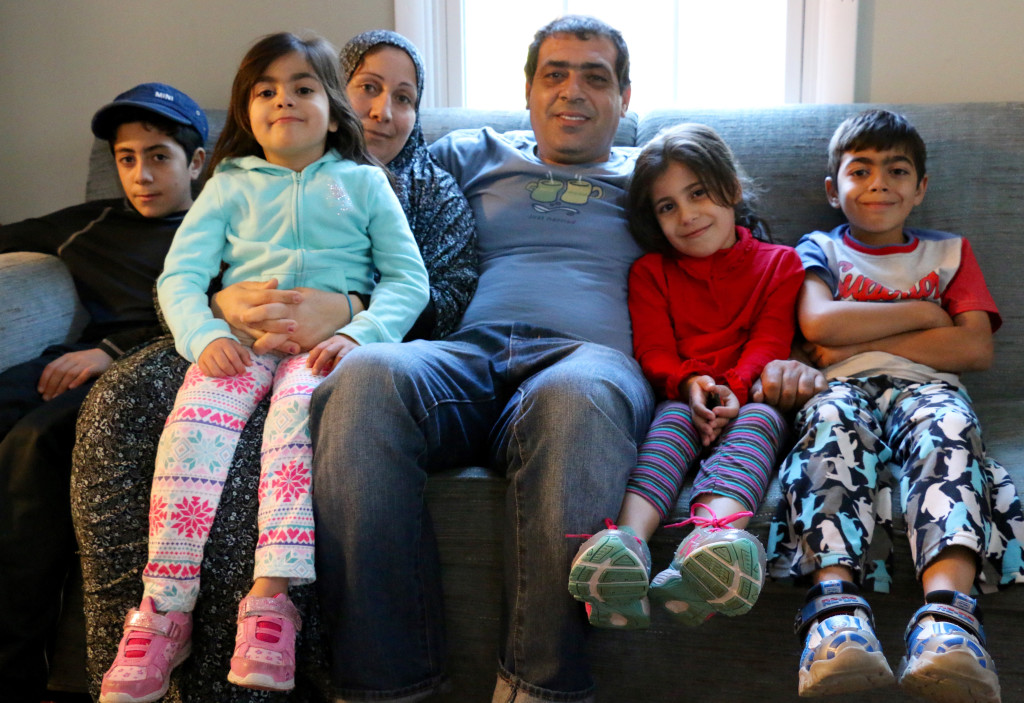 A family of Syrian refugees escaped to the United States earlier this year in an attempt to save their children's lives. Photo by Tracy Smith.