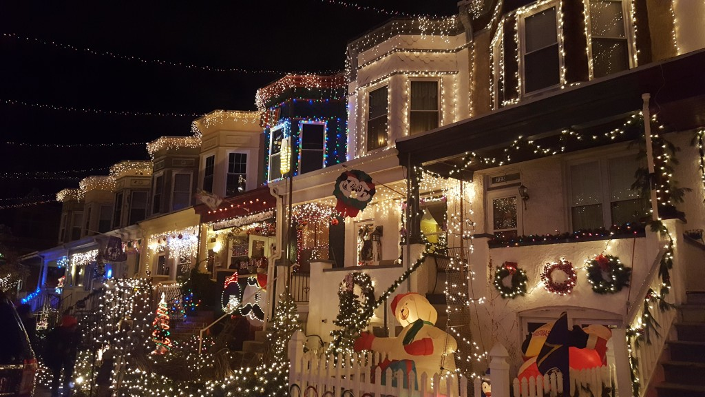 Residents of 34th Street in Baltimore have been putting on a show for more than 20 years. Photo by Taylor N. Villarreal.