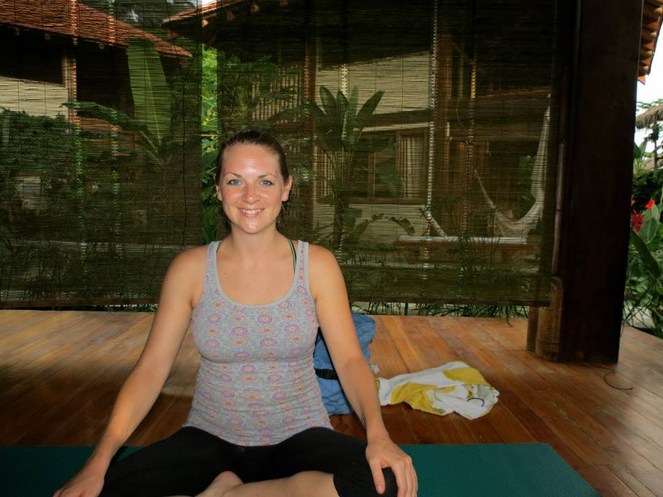 Yoga instructor Carrie Miller believes internal beauty is more important than physical beauty. Photo provided by Miller.