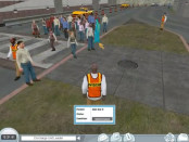 A screenshot of Code Orange, a training game for medical personnel dealing with mass casualty situations. Photo used with permission from BreakAway.
