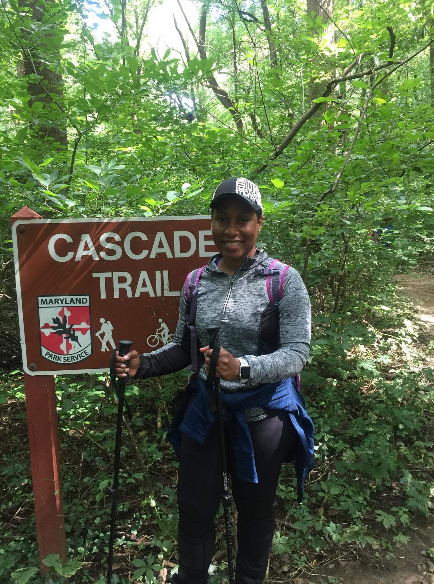 Sharon Taylor Is Part Of A Hiking Group Called Outdoor Afro Photo Provided By